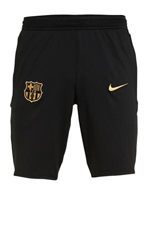 Senior FC Barcelona voetbalshort zwart