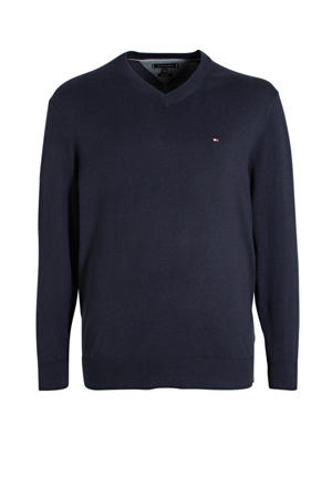 +size trui donkerblauw