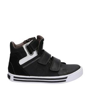 Dex Day  hoge leren sneakers zwart