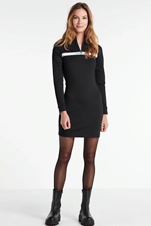 jurk Milano Mock met logo ck black
