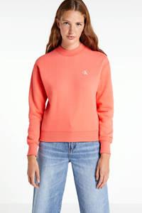 CALVIN KLEIN JEANS sweater CK EMBROIDERY REGULAR CREW NECK island punch, Island Punch