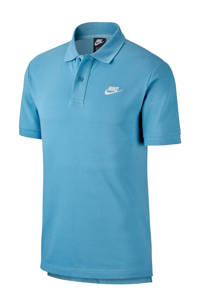 Nike   sportpolo lichtblauw, Lichtblauw