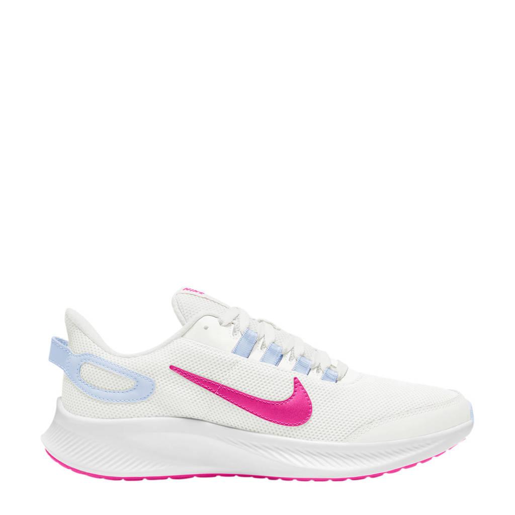 Nike Run All Day 2 hardloopschoenen wit/fuchsia, Wit/fuchsia