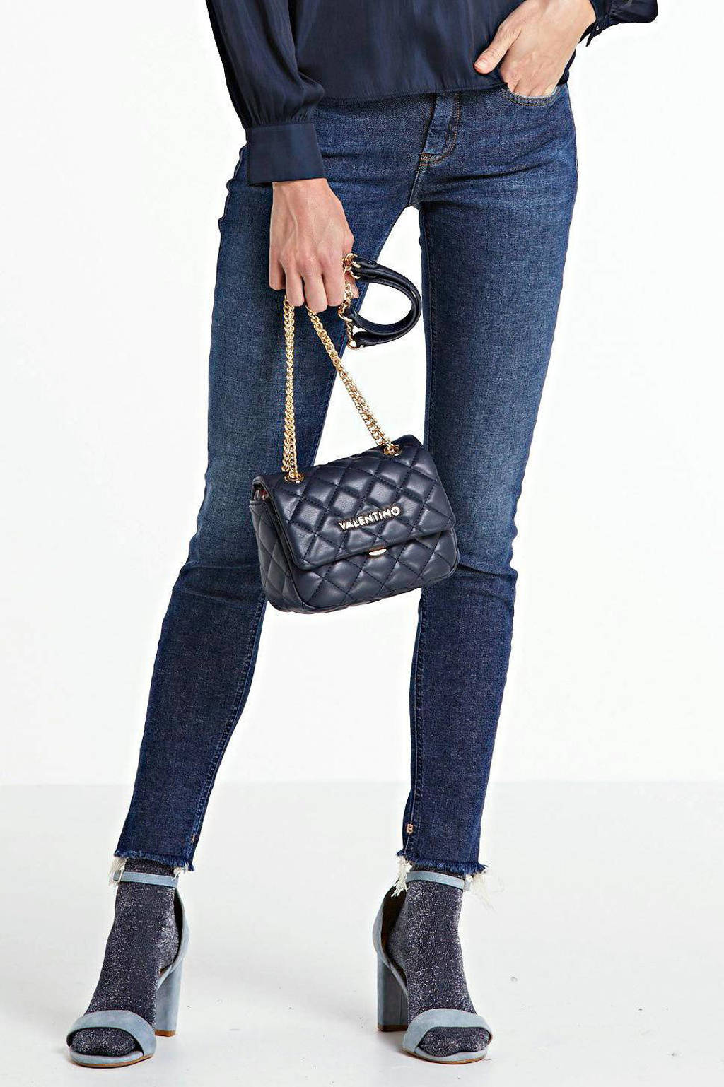 Scotch & Soda skinny jeans donkerblauw, Donkerblauw