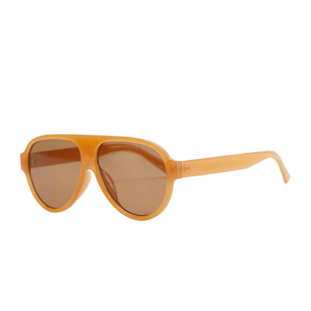 Mango zonnebril beige
