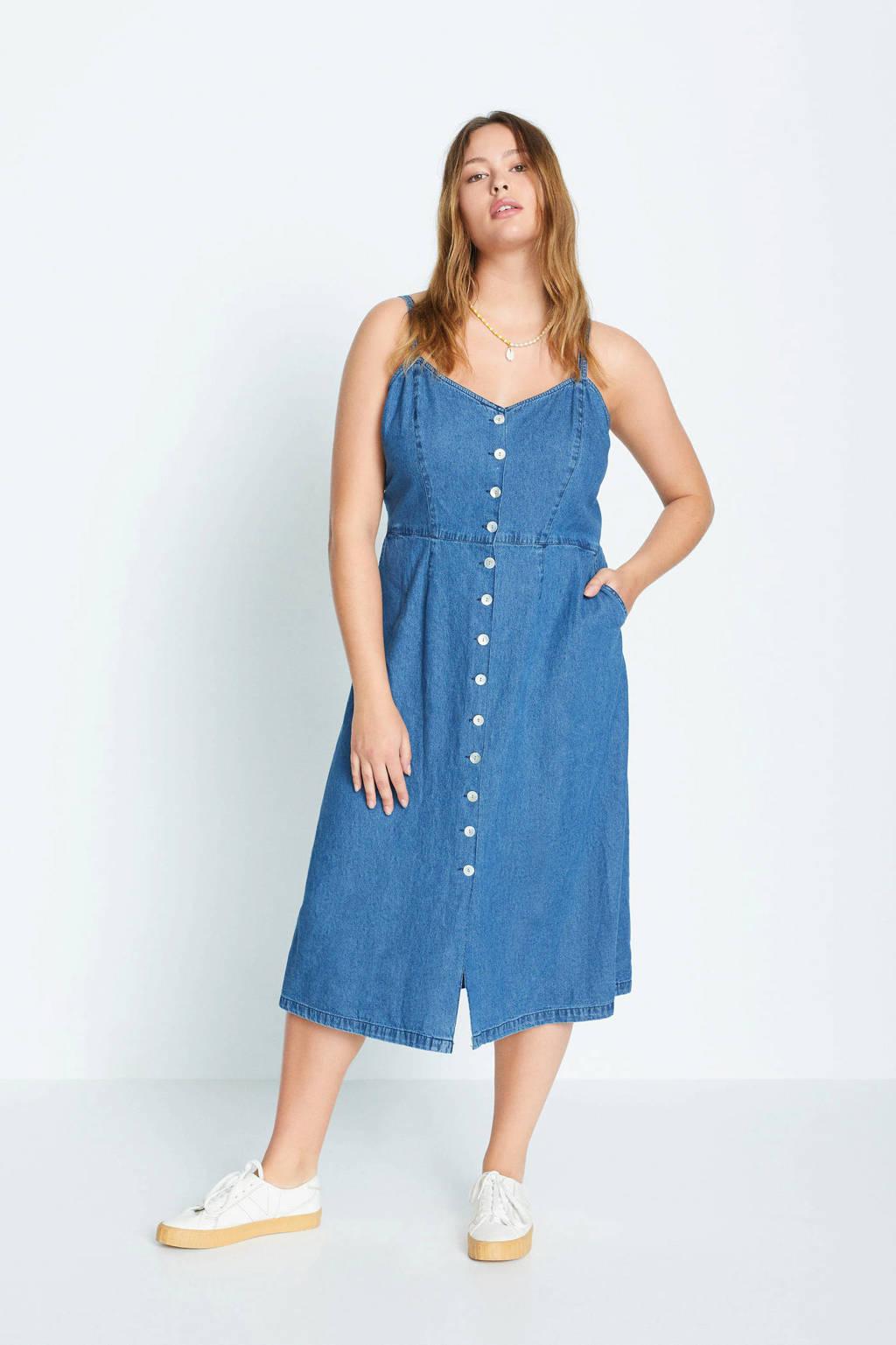 Violeta by Mango spijkerjurk blauw, Blauw