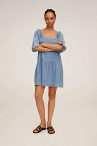 Mango spijkerjurk, Light blue denim