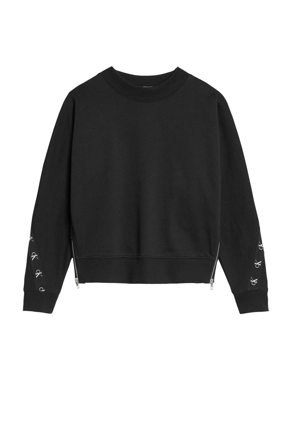 CALVIN KLEIN JEANS sweater zwart, Zwart