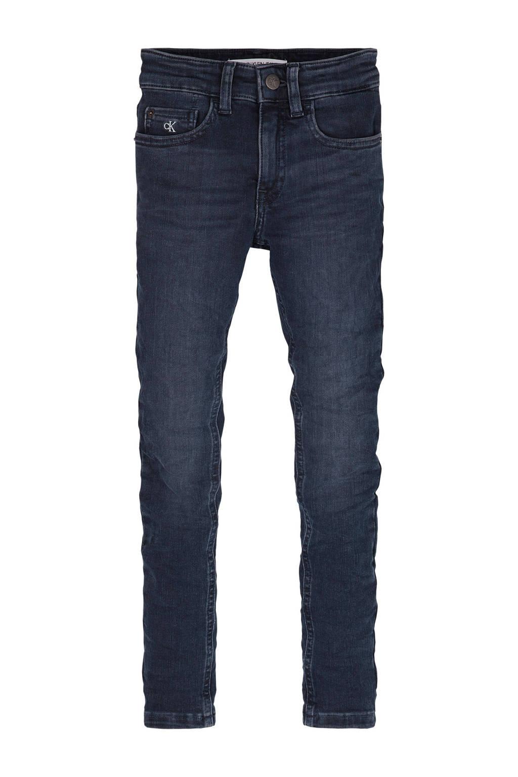 CALVIN KLEIN JEANS super skinny jeans dark denim, Dark denim