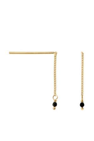 oorbellen 18-2M902029GP goud/zwart