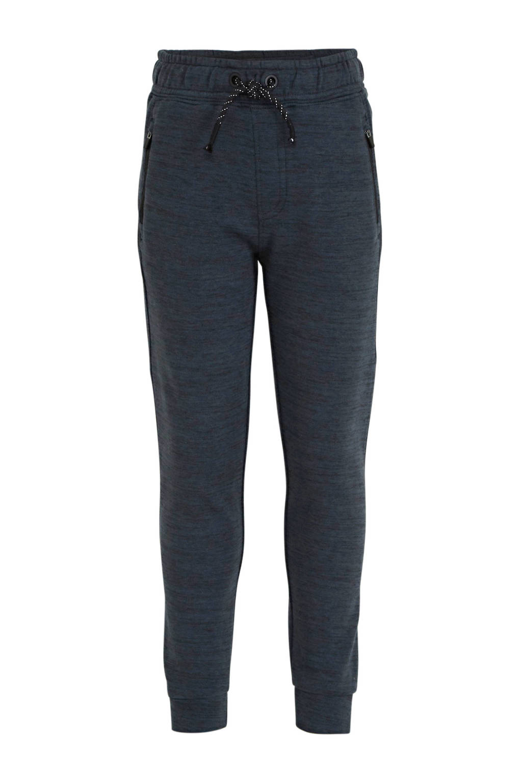 NAME IT KIDS gemêleerde broek Scott donkerblauw, Donkerblauw