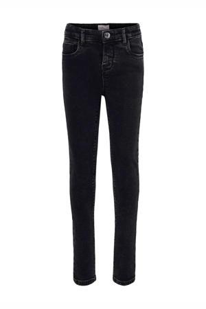 high waist slim fit jeans KONPAOLA dark grey denim