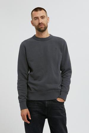 sweater Kaarlsson van biologisch katoen gewassen zwart