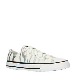 Archive Zebra Chuck Taylor All Star Low Top  sneakers wit/zilver