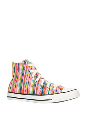 Summer Stripes Chuck Taylor All Star High Top  sneakers multi