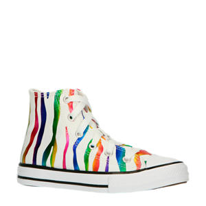 Archive Zebra Chuck Taylor All Star High Top  sneakers wit/multi metallic