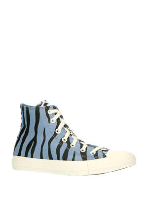 Twister Archive Prints Chuck Taylor All Star High Top  sneakers lichtblauw/zwart