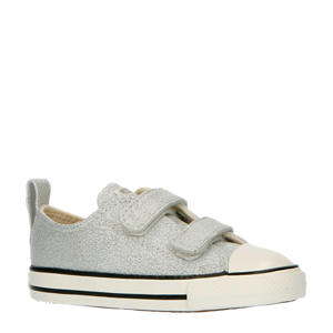 Summer Sparkle Easy-On Chuck Taylor All Star Low Top  sneakers zilver