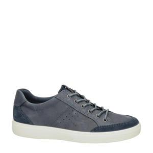 Soft Classic  nubuck sneakers blauw