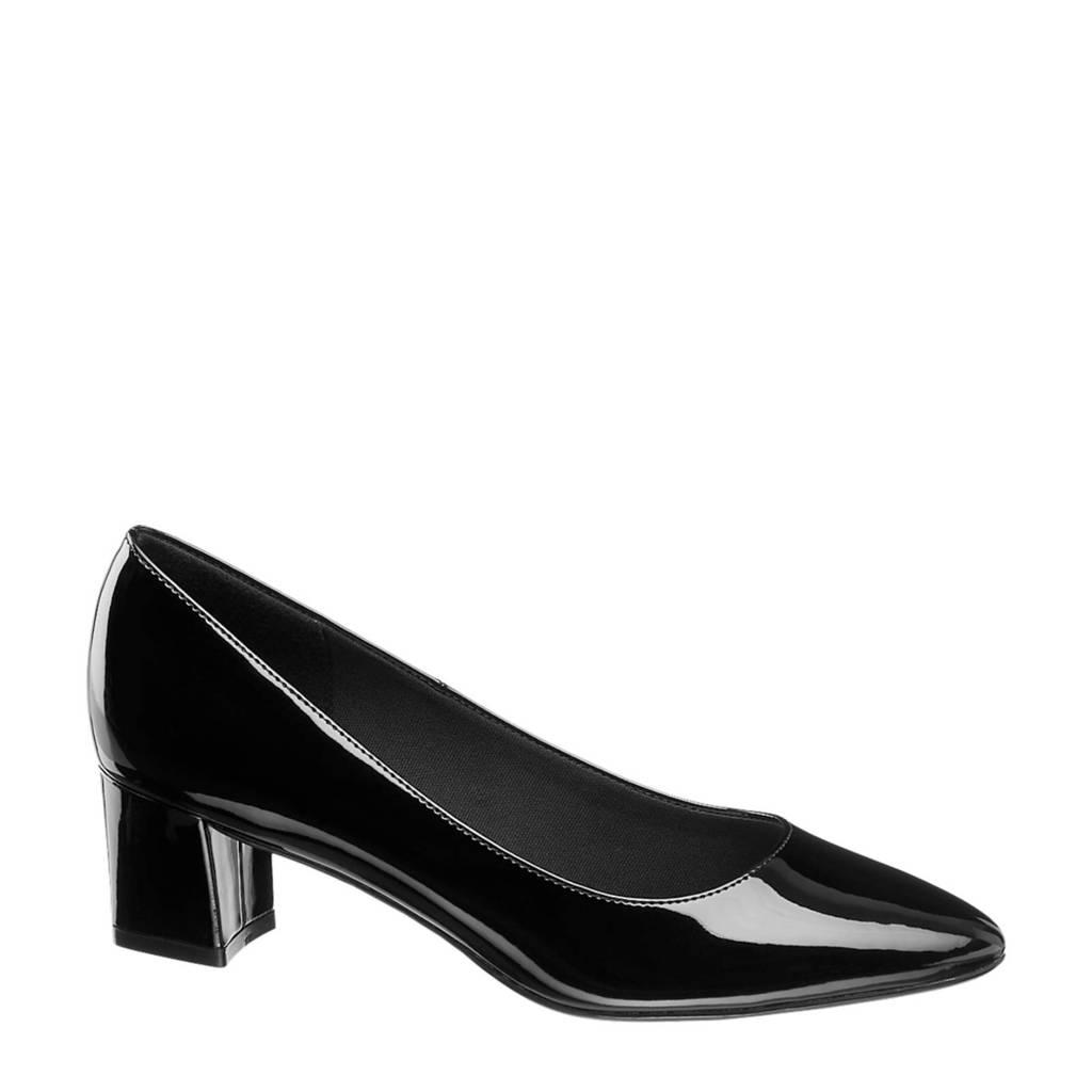 Graceland   pumps lak zwart, Zwart