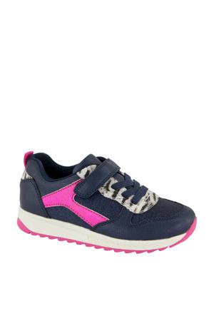 sneakers donkerblauw/fuchsia