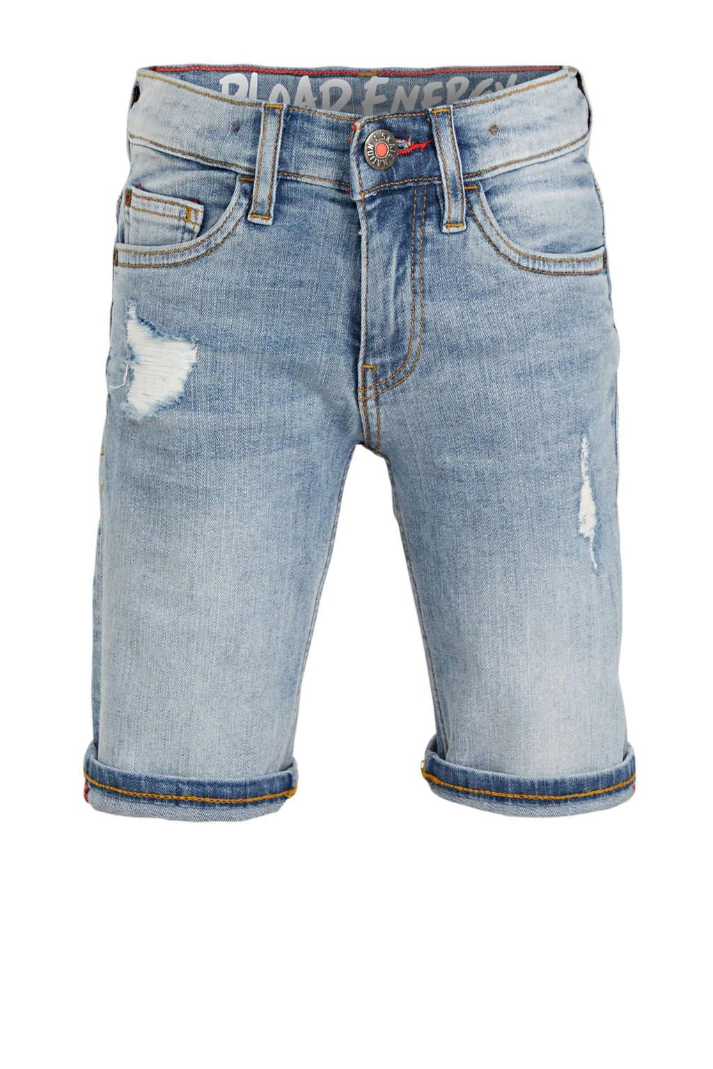 C&A Here & There regular fit jeans bermuda lichtblauw, Lichtblauw
