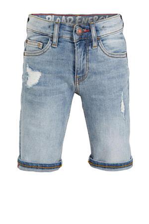 regular fit jeans bermuda lichtblauw