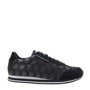 sneakers met stippen zwart