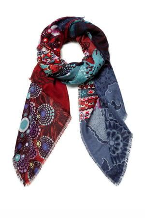 sjaal multi kleurig