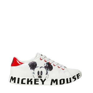 sneakers met Mickey Mouse wit