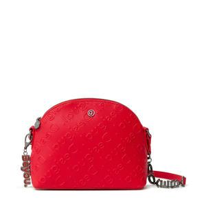 crossbody tas rood