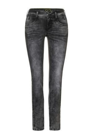 low waist slim fit jeans Crissi grijs
