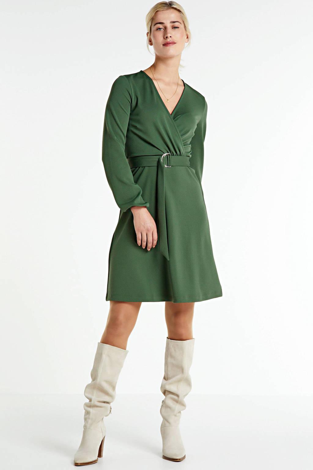 anytime jurk donkergroen, Donkergroen