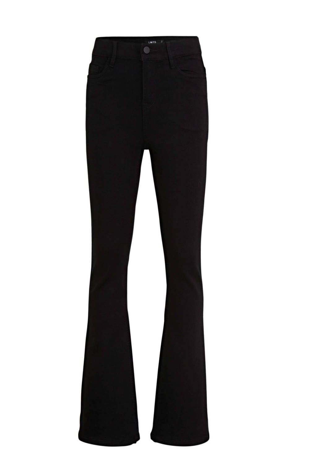 LMTD flared jeans Pil zwart, Zwart