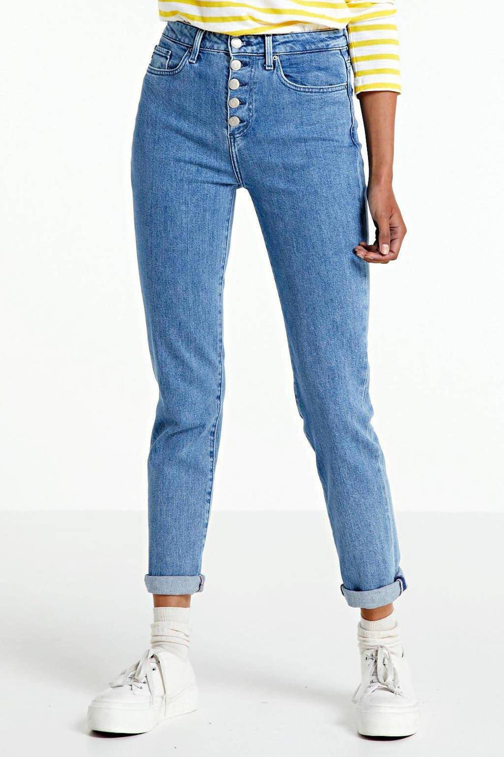 Tommy Hilfiger high waist straight fit jeans Riverpoint Narrow light denim, Light denim