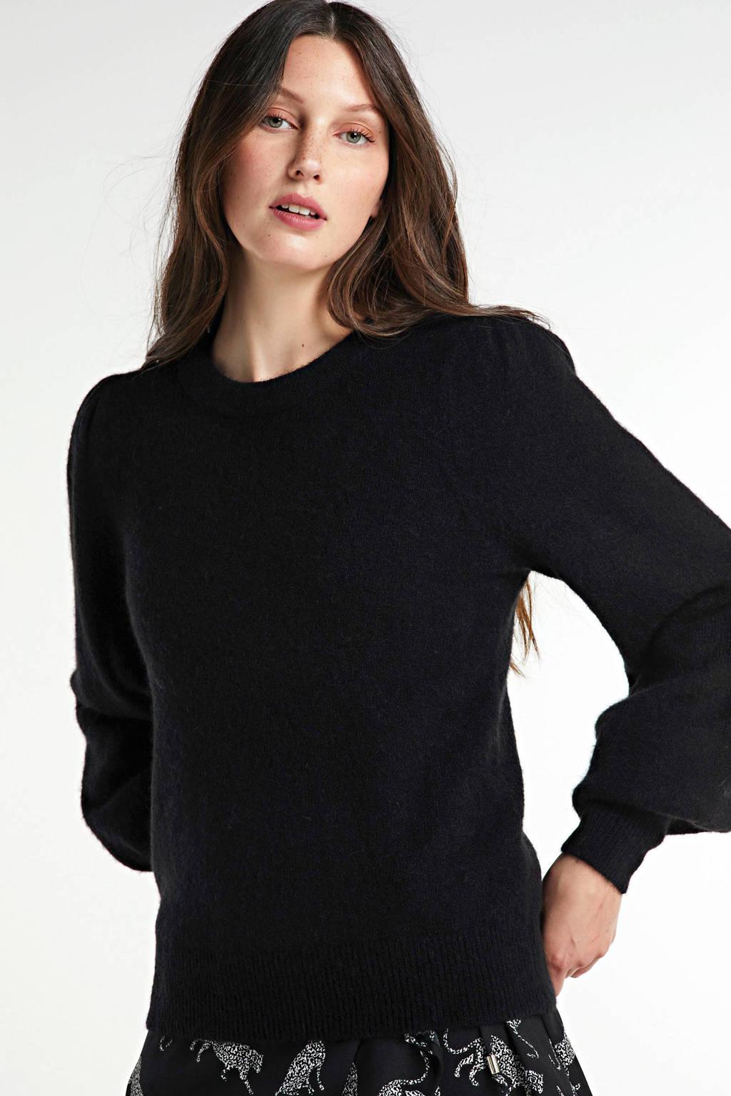 FREEQUENT trui zwart, Zwart