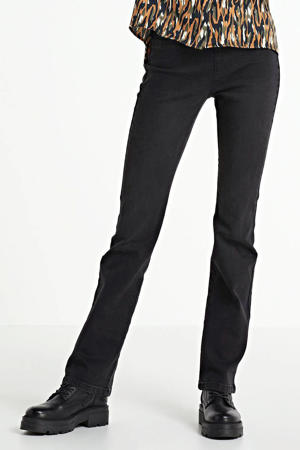 flared jeans FQSHANTAL-PA-DENIM-B.CUT black denim