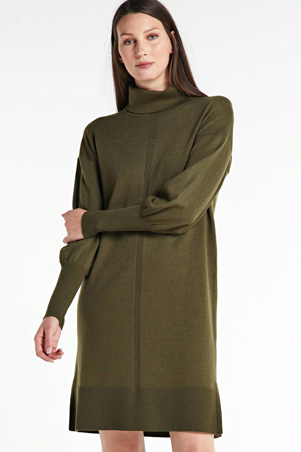 FREEQUENT jurk donkergroen, Donkergroen