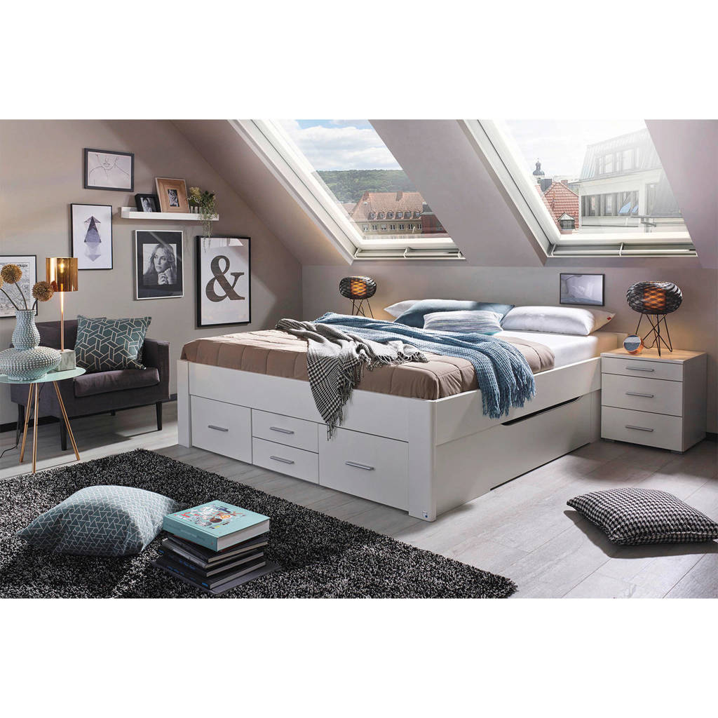 Beter Bed  Butiken (140x200 cm), Alpine wit