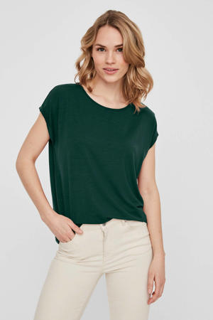 T-shirt Ava donkergroen
