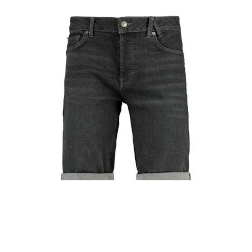 America Today regular fit jeans short washed black