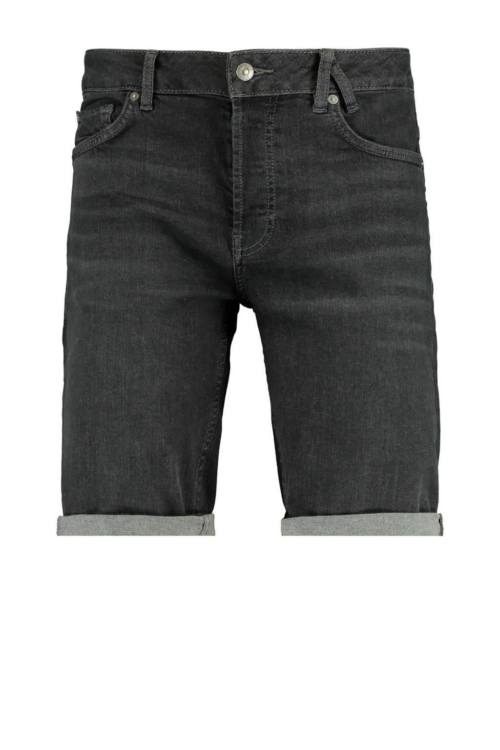 America Today regular fit jeans short washed black