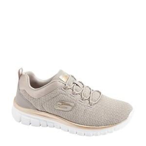 sneakers taupe/goud