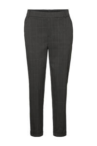 VERO MODA slim fit broek antraciet, Antraciet