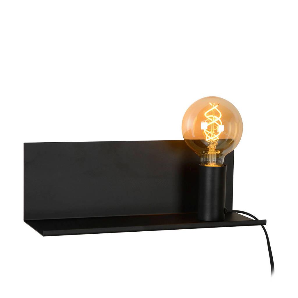 Lucide wandlamp Sebo, Zwart