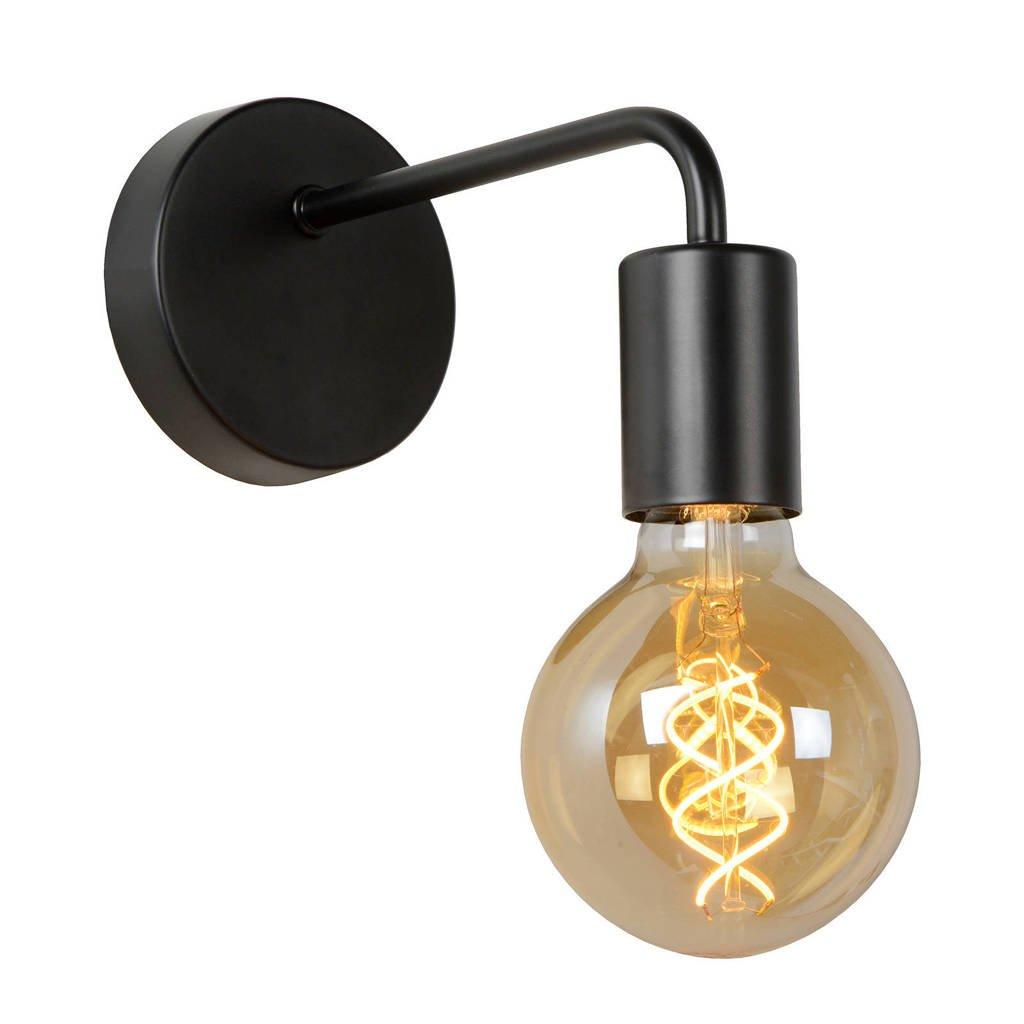 Lucide wandlamp Scott, Zwart
