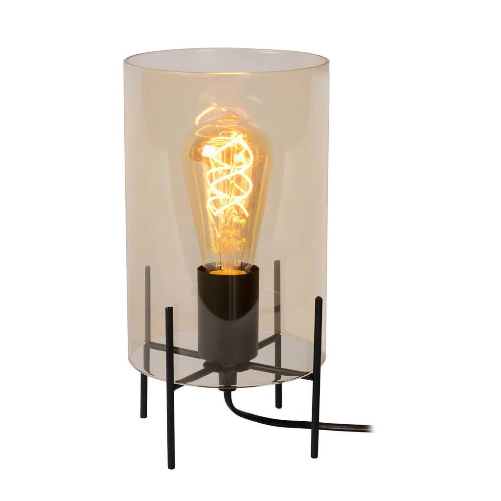 Lucide tafellamp Steffie, Amber/Zwart