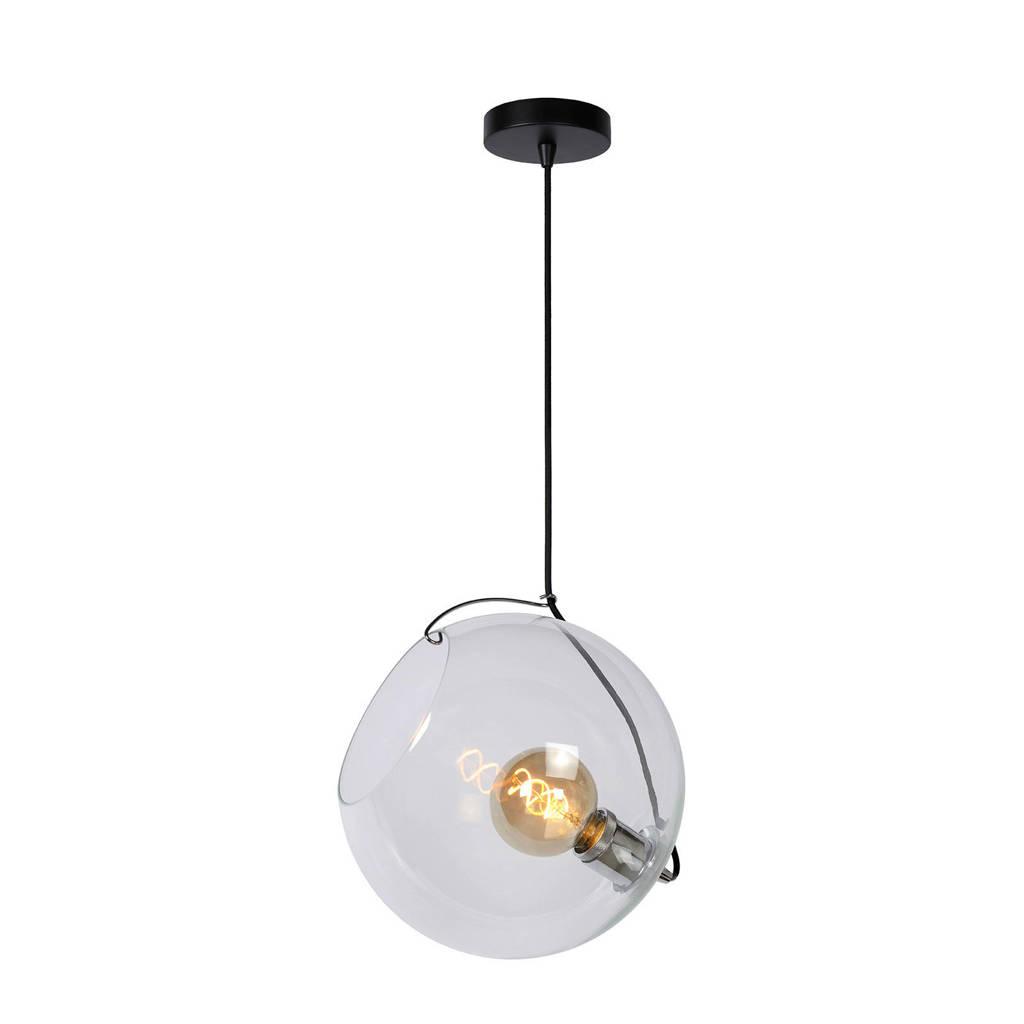 Lucide hanglamp Jazzlynn, Transparant/zwart, 30