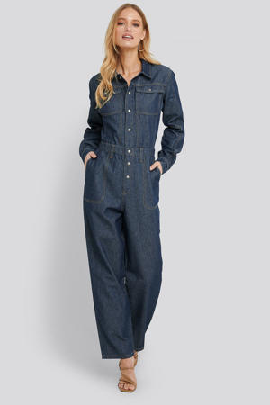 jumpsuit dark denim