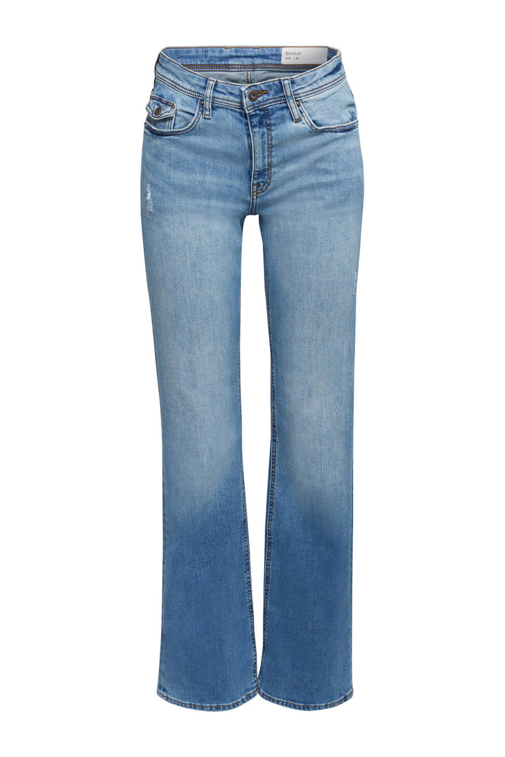 edc Women bootcut jeans light denim stonewashed, Light denim stonewashed